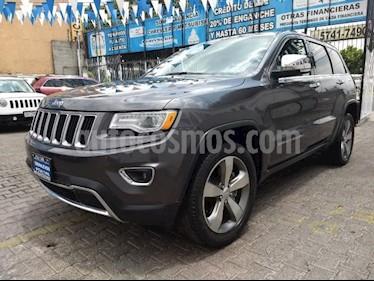 Foto venta Auto usado Jeep Grand Cherokee 5p Limited Lujo 4x4 V8/5.7 Aut (2016) color Gris precio $585,000
