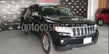 Foto venta Auto usado Jeep Grand Cherokee 5p Limited Premium V8/4.7 Aut 4x2 (2011) color Negro precio $211,000