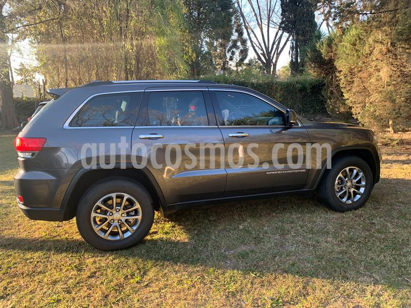 Jeep Grand Cherokee Limited 3.6 usado (2013) color Gris precio $3.650.000