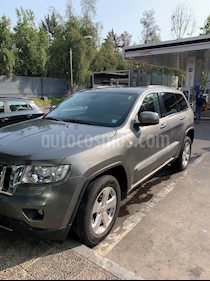 Jeep Grand Cherokee 3.6L Limited LX 4x4 usado (2012) color Gris precio $10.290.000