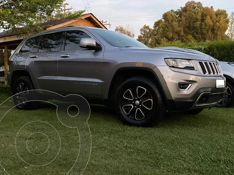 Jeep Grand Cherokee Limited 3.6L LX 4x4  usado (2014) color Gris precio $14.500.000
