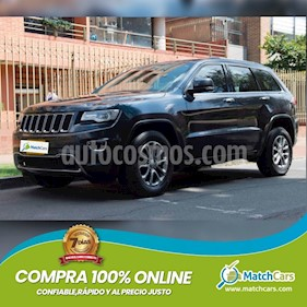 Jeep Grand Cherokee 3.6L Limited 4x4 usado (2014) color Negro precio $79.990.000