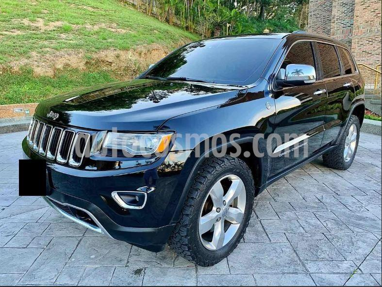 Jeep Grand Cherokee 3.6L Limited 4x4 usado (2013) color Negro precio $50.000.000