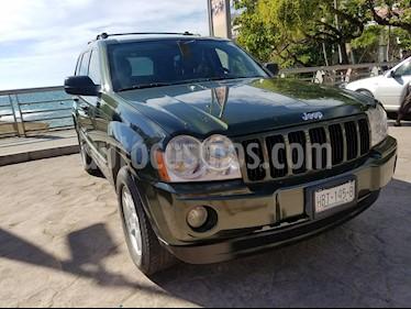 Foto venta Auto usado Jeep Grand Cherokee Laredo 4X2 3.7L V6 (2007) color Verde Oliva precio $119,000