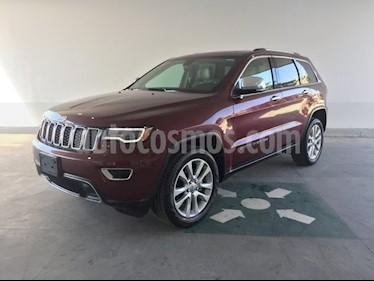 Foto venta Auto usado Jeep Grand Cherokee Limited 3.6L 4x2 (2017) color Rojo Granate precio $580,000