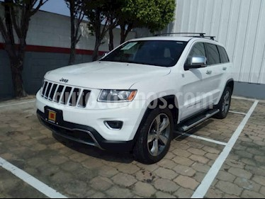 Foto venta Auto usado Jeep Grand Cherokee Limited 3.6L 4x2 (2014) color Blanco precio $340,000