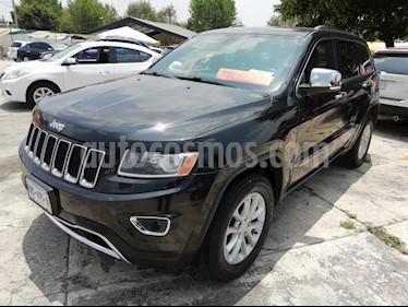 Foto Jeep Grand Cherokee Limited 3.6L 4x2 usado (2014) color Negro precio $293,000