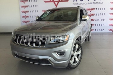 Jeep Grand Cherokee Limited 3.6L 4x2 usado (2014) color Gris precio $375,000