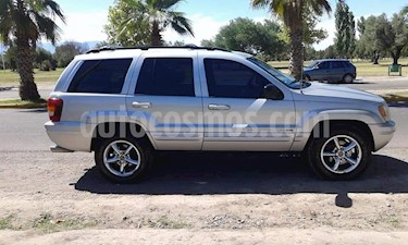 Jeep Grand Cherokee Limited 4.7 V8 usado (2002) color Plata precio $340.000