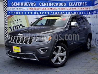 Jeep Grand Cherokee Limited 4x2 3.6L V6 usado (2014) color Gris Grafito precio $359,000