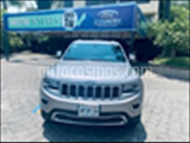 Jeep Grand Cherokee LIMITED 4X2 V6/3.6 AUT NAV usado (2015) color Gris precio $469,000