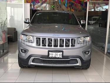 Foto venta Auto Seminuevo Jeep Grand Cherokee Limited Lujo 3.6L 4x2 (2015) color Plata Martillado