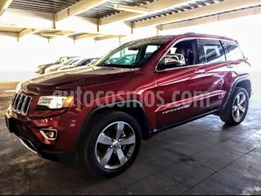 Foto venta Auto Seminuevo Jeep Grand Cherokee Limited Lujo 3.6L 4x2 (2015) color Rojo precio $440,000