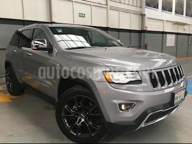 Foto venta Auto Seminuevo Jeep Grand Cherokee Limited Lujo 5.7L 4x2 (2015) color Plata precio $480,000