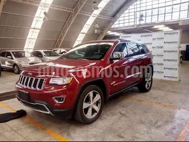 Foto venta Auto usado Jeep Grand Cherokee Limited Lujo 5.7L 4x2 (2015) color Rojo precio $399,000
