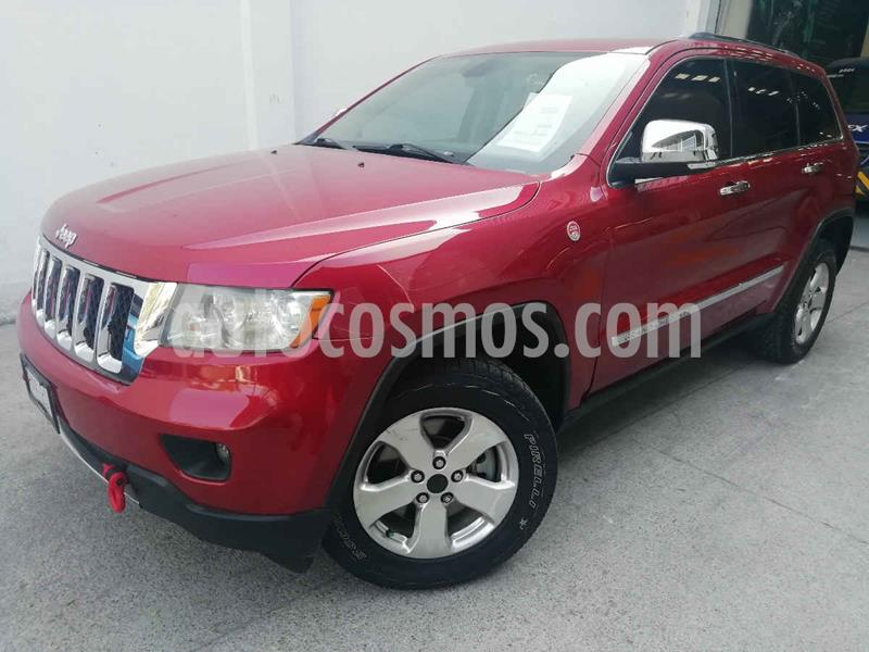 Jeep Grand Cherokee Overland 5.7L V8 4x4 Tech Group usado (2011) color Rojo precio $225,000