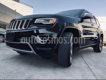 Jeep Grand Cherokee Limited Lujo 5.7L 4x2 usado (2015) color Negro precio $379,000