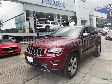 Jeep Grand Cherokee Limited Lujo 3.6L 4x2 usado (2016) color Rojo precio $459,900