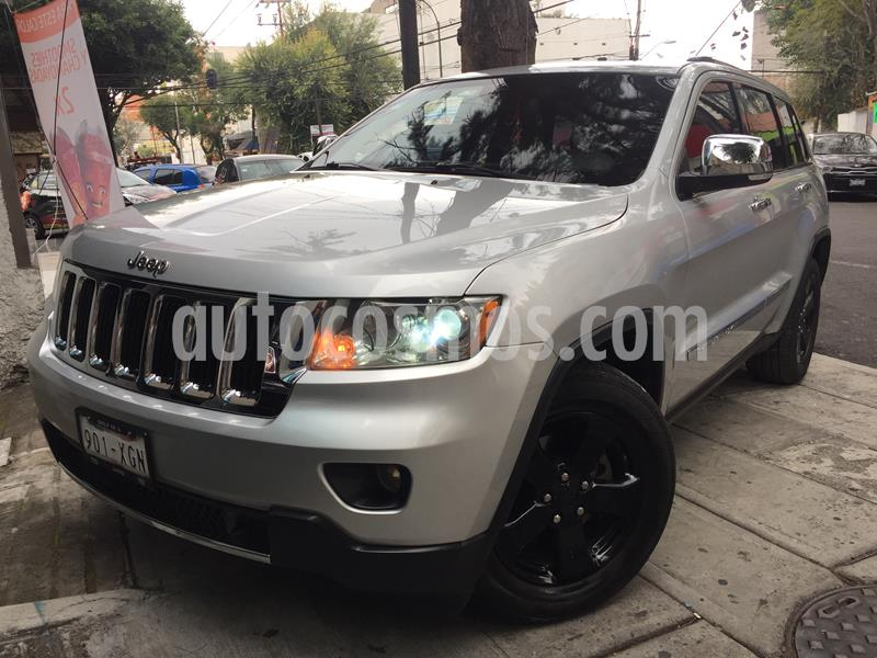 Jeep Grand Cherokee Limited Premium 4x4 5.7L V8 Blindada usado (2011) color Plata precio $419,950