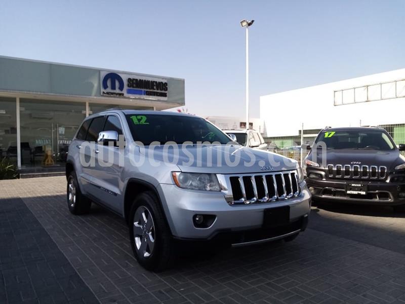 Jeep Grand Cherokee Limited 4x2 3.6L V6 usado (2012) color Plata Dorado precio $215,000