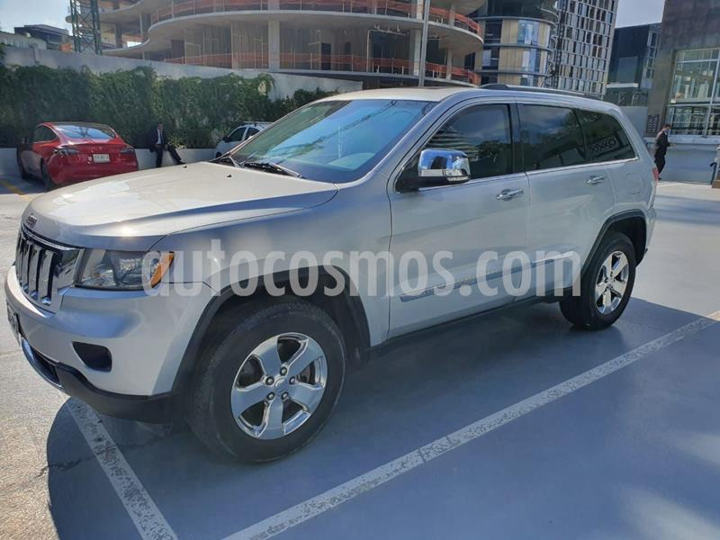 Jeep Grand Cherokee Limited Premium 4x4 5.7L V8 usado (2011) color Plata precio $499,000