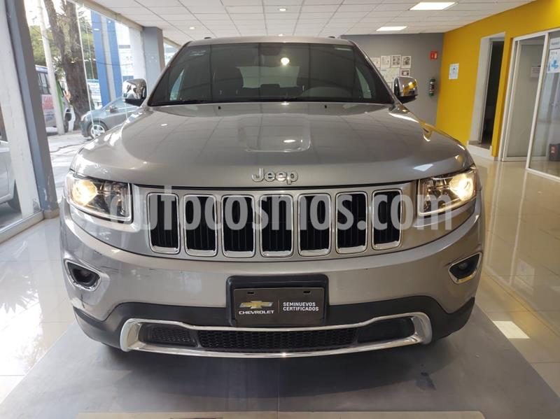 Jeep Grand Cherokee Limited 4x2 3.6L V6 usado (2016) color Plata Dorado precio $405,000