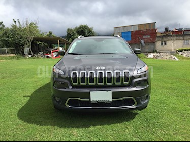 Jeep Grand Cherokee Limited 3.6L 4x2 usado (2017) color Granito precio $369,000