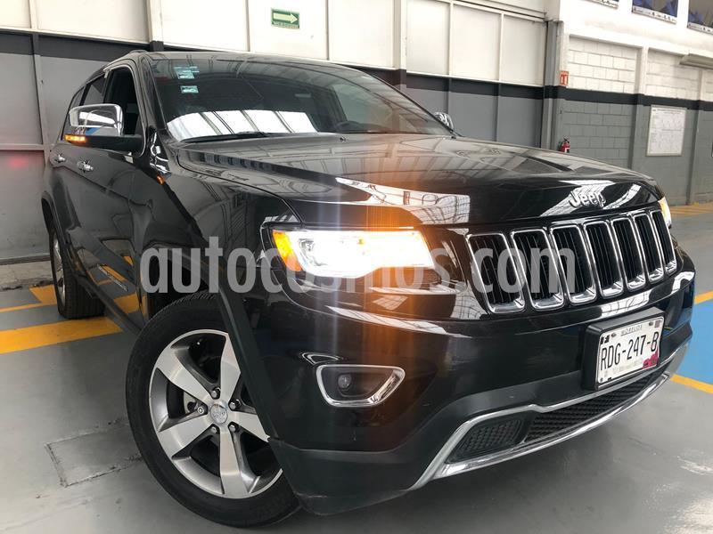 Jeep Grand Cherokee Limited Lujo 3.6L 4x2 usado (2015) color Negro precio $399,000