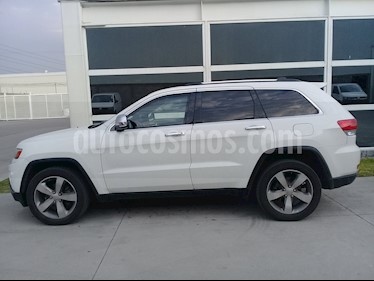 Jeep Grand Cherokee Limited Lujo Advance 5.7L 4x4 usado (2014) color Blanco precio $595,000
