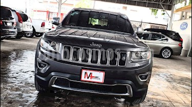 Jeep Grand Cherokee Limited 4x2 3.6L V6 usado (2014) color Gris precio $320,000
