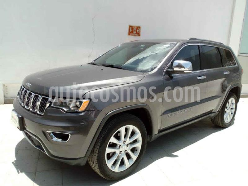 Jeep Grand Cherokee Limited Navegacion 4x2 3.6L V6 usado (2017) color Gris precio $439,000