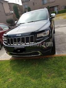 Jeep Grand Cherokee Limited Lujo 3.6L 4x2 usado (2015) color Negro precio $400,000