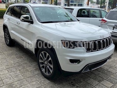 Jeep Grand Cherokee Limited 3.6L 4x2 usado (2018) color Blanco precio $589,000