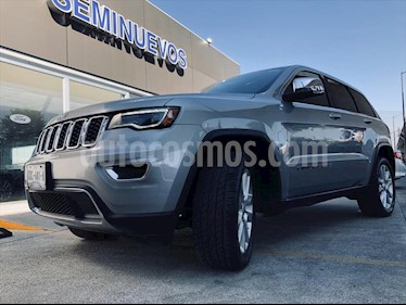 Jeep Grand Cherokee Limited Lujo 5.7L 4x4 usado (2017) color Gris Oscuro precio $570,000