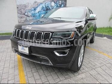 Jeep Grand Cherokee Limited Lujo 3.6L 4x2 usado (2017) color Negro precio $579,000