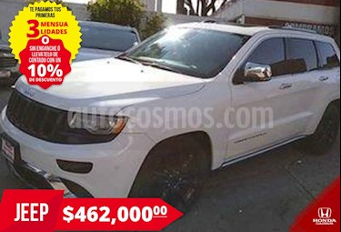Jeep Grand Cherokee Overland Summit 4x4 V8/5.7 Aut usado (2015) color Blanco precio $462,000