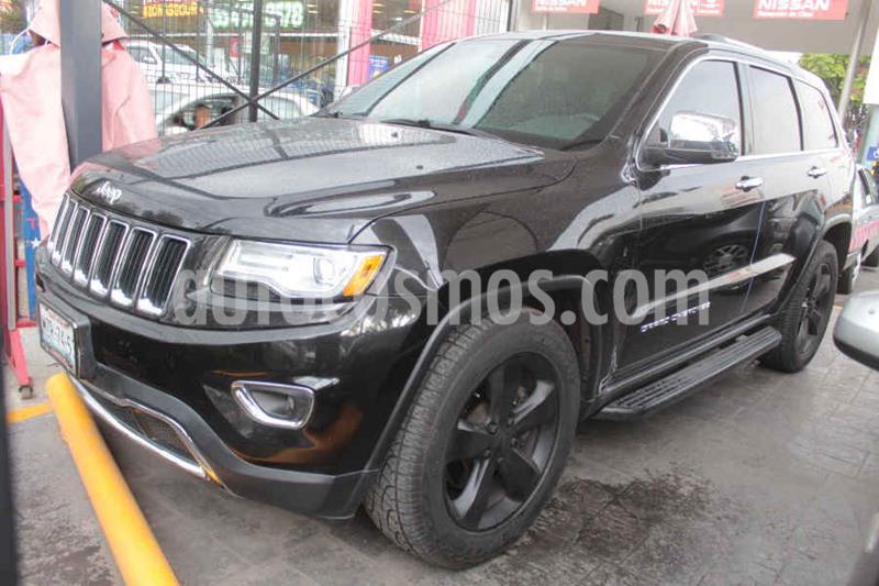 Jeep Grand Cherokee Limited Lujo 5.7L 4x4 usado (2016) color Negro precio $419,000