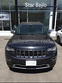 Jeep Grand Cherokee Limited 3.6L 4x2 usado (2018) color Gris precio $510,000