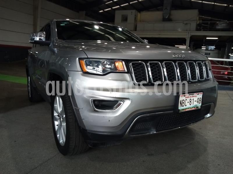 Jeep Grand Cherokee Limited 4x2 3.6L V6 usado (2017) color Gris precio $489,000