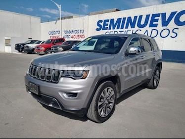 Jeep Grand Cherokee Limited Lujo 3.6L 4x2 usado (2018) color Plata precio $600,000