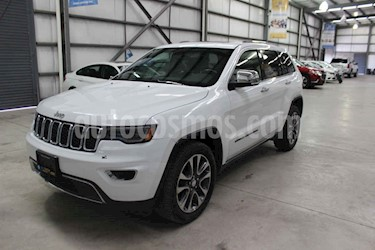 Jeep Grand Cherokee 5p Limited 4x2 V6/3.6 Aut Nav usado (2018) color Blanco precio $529,900