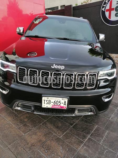 Jeep Grand Cherokee Limited Lujo 3.6L 4x2 usado (2017) color Negro precio $445,000