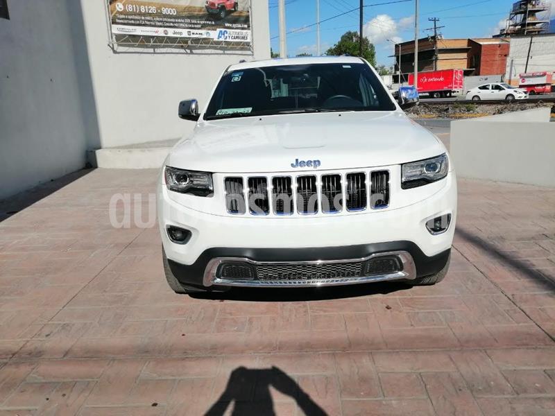 Jeep Grand Cherokee Limited 4x2 3.6L V6 usado (2015) color Blanco precio $429,900