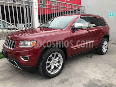 Jeep Grand Cherokee Limited 4x2 3.6L V6 usado (2014) color Vino Tinto precio $299,000