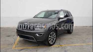 Jeep Grand Cherokee 5p Limited 4x2 V6/3.6 Aut Nav usado (2018) color Gris precio $489,900