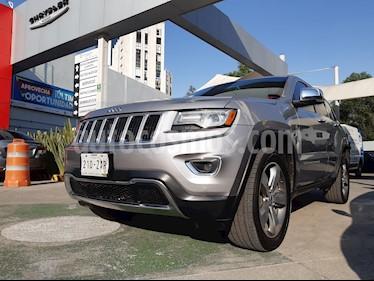 Jeep Grand Cherokee Limited Lujo 3.6L 4x2 usado (2014) color Plata Martillado precio $334,000