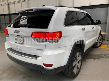 Foto Jeep Grand Cherokee 5P LIMITED LUJO V6 3.6L TA PIEL QC GPS BI-XENON R usado (2015) color Blanco precio $380,000