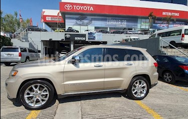 Jeep Grand Cherokee 5P OVERLAND SUMMIT 4X4 V8/5.7 AUT usado (2015) color Beige precio $464,900