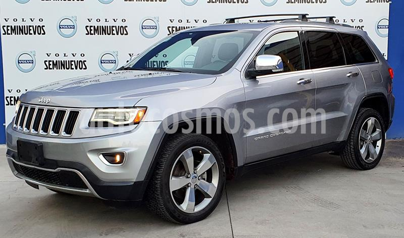 Jeep Grand Cherokee Limited Lujo 5.7L 4x4 usado (2014) color Plata Dorado precio $315,000