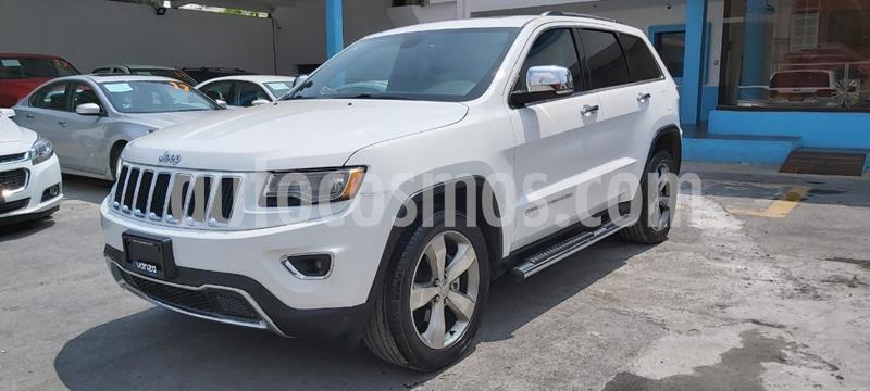 Jeep Grand Cherokee Limited Lujo 3.6L 4x2 usado (2016) color Blanco precio $475,000